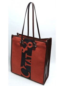 Square V Canvas Bag